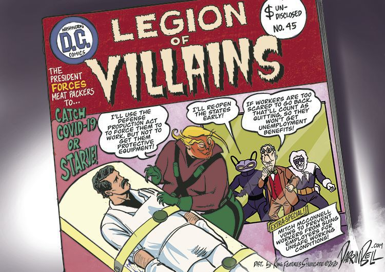 Legion of Villains (2020)