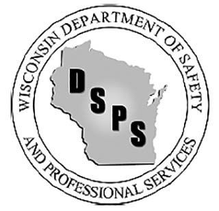 Wisconsin Department of Safety and Professional Services (DSPS) logo