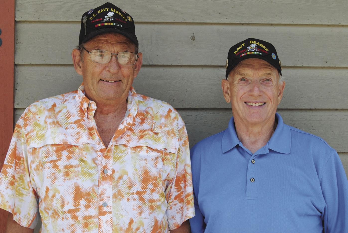 Bob Metzker and Ted Hoffman