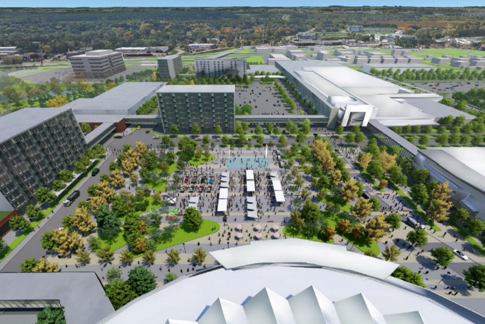 Alliant Energy Center campus plan