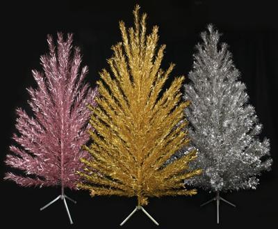 Museum hosts aluminum christmas tree exhibit news hngnews.com