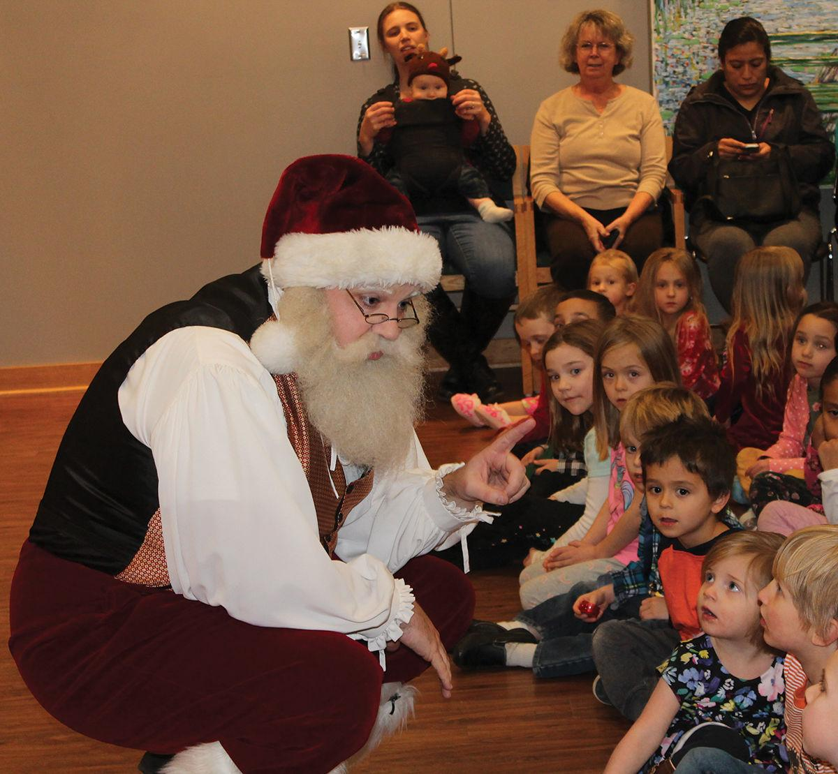 STORIES WITH SANTA