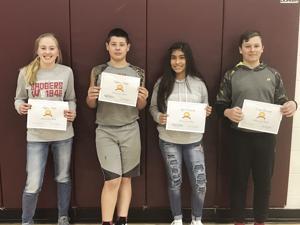 Waterloo MS students honored