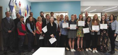 Youth apprenticeship students recognized