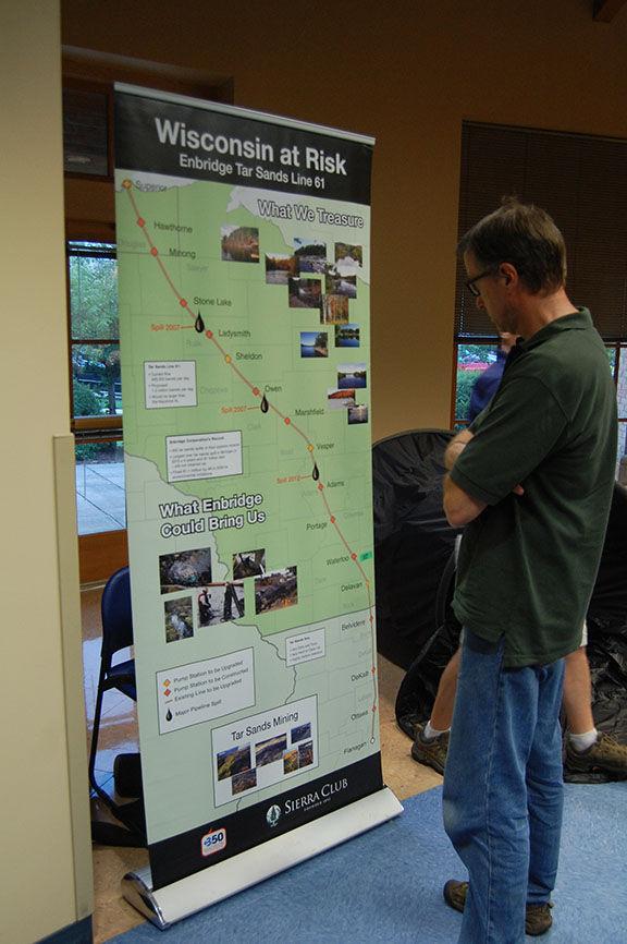 Citizens voice concerns about Enbridge pipeline
