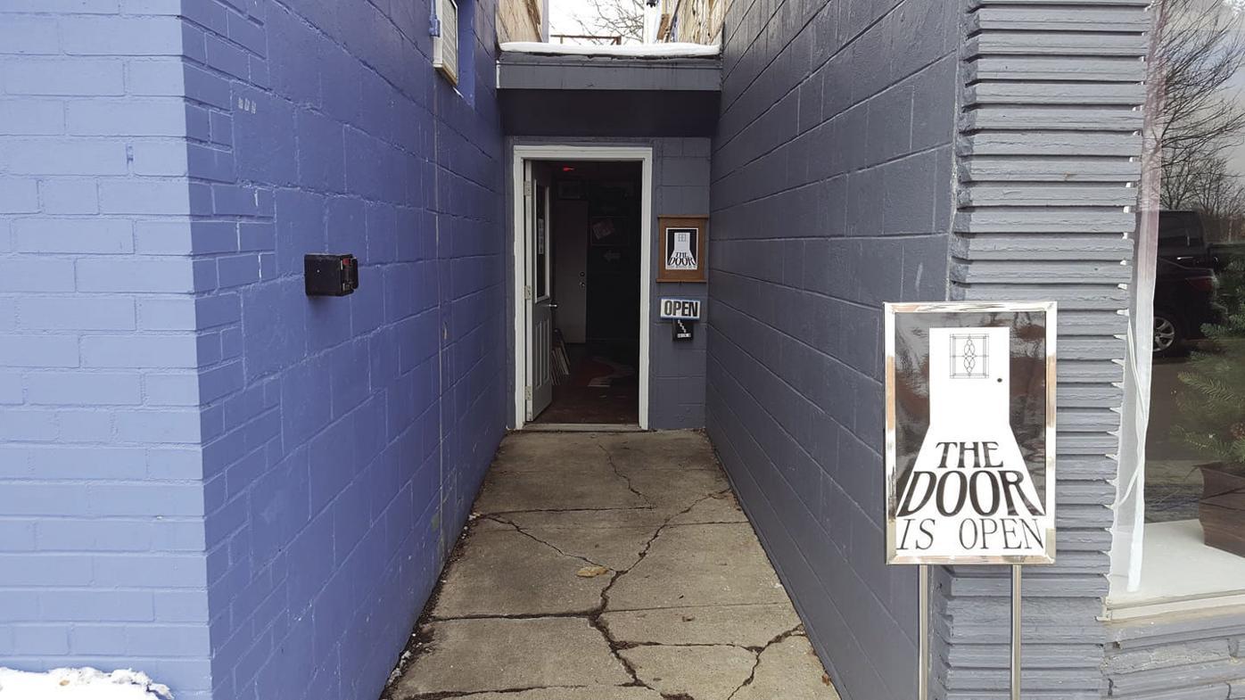 The Door, front