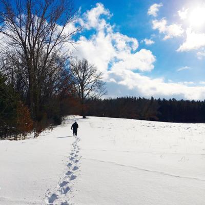 Snowshoe event