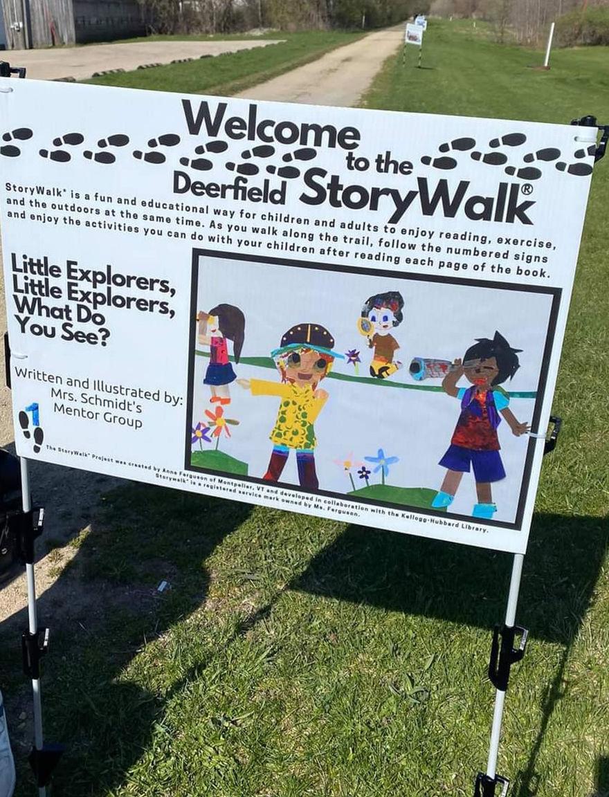 Deerfield Storywalk