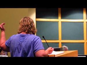 Michele Keenan speaks to the Sun Prairie City Council 12-5-2017