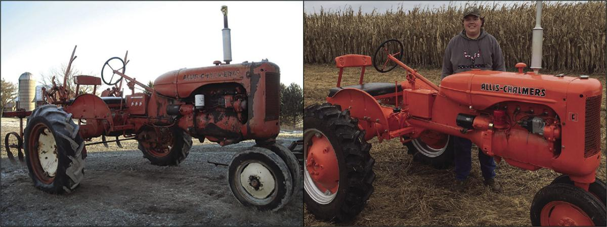 Students complete tractor restoration project