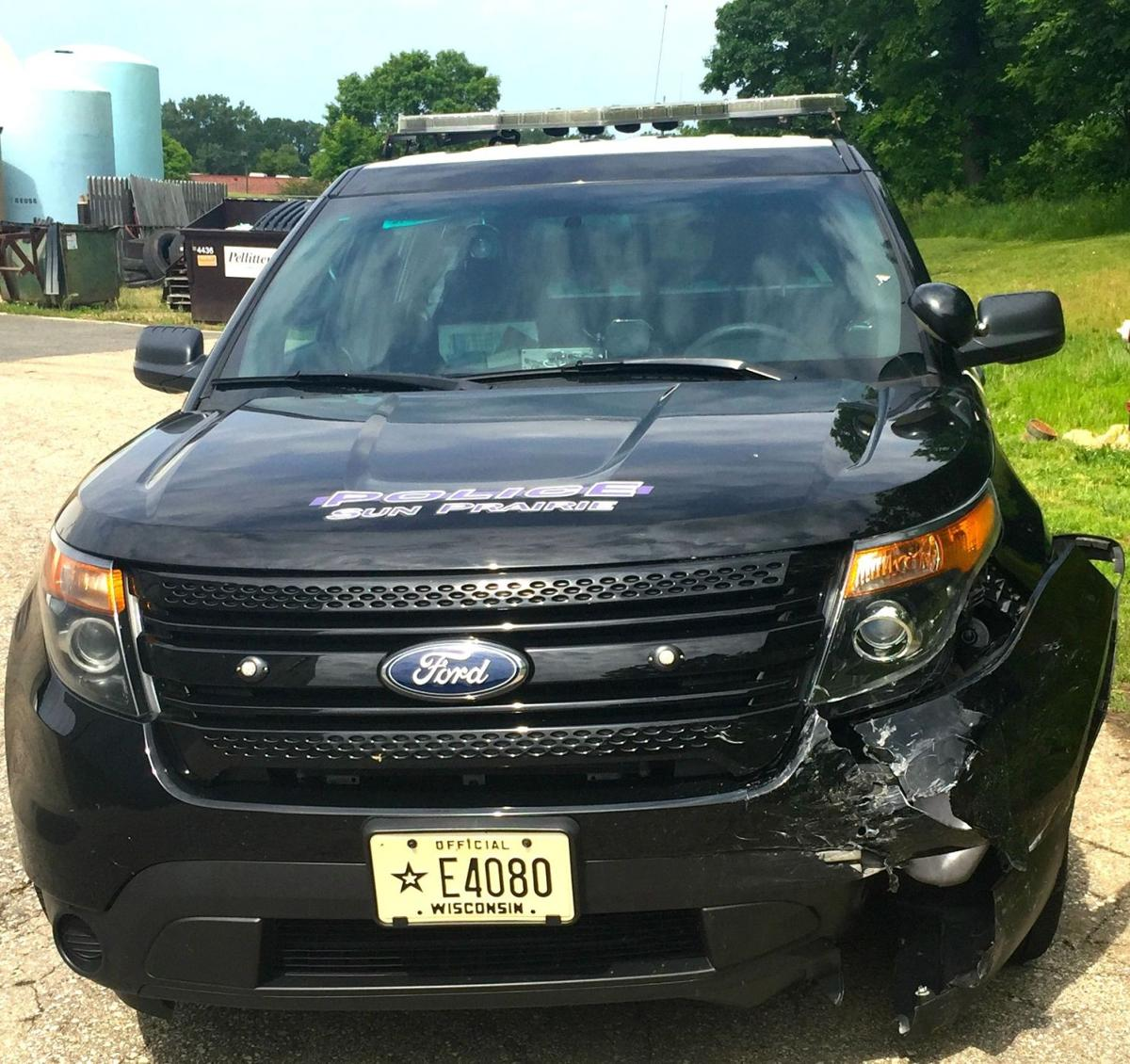 Update Sun Prairie Man Cited For Owi After Colliding With