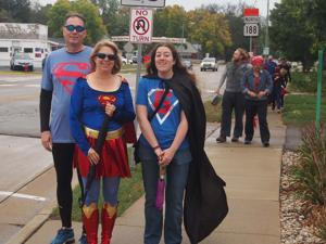 "Reach out Lodi holds ""Be a Super Hero Walk"""
