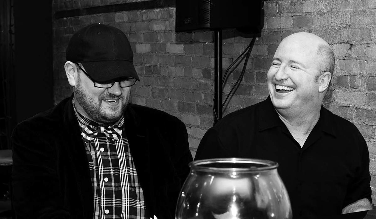 Peter Hernet and Dan Rafferty
