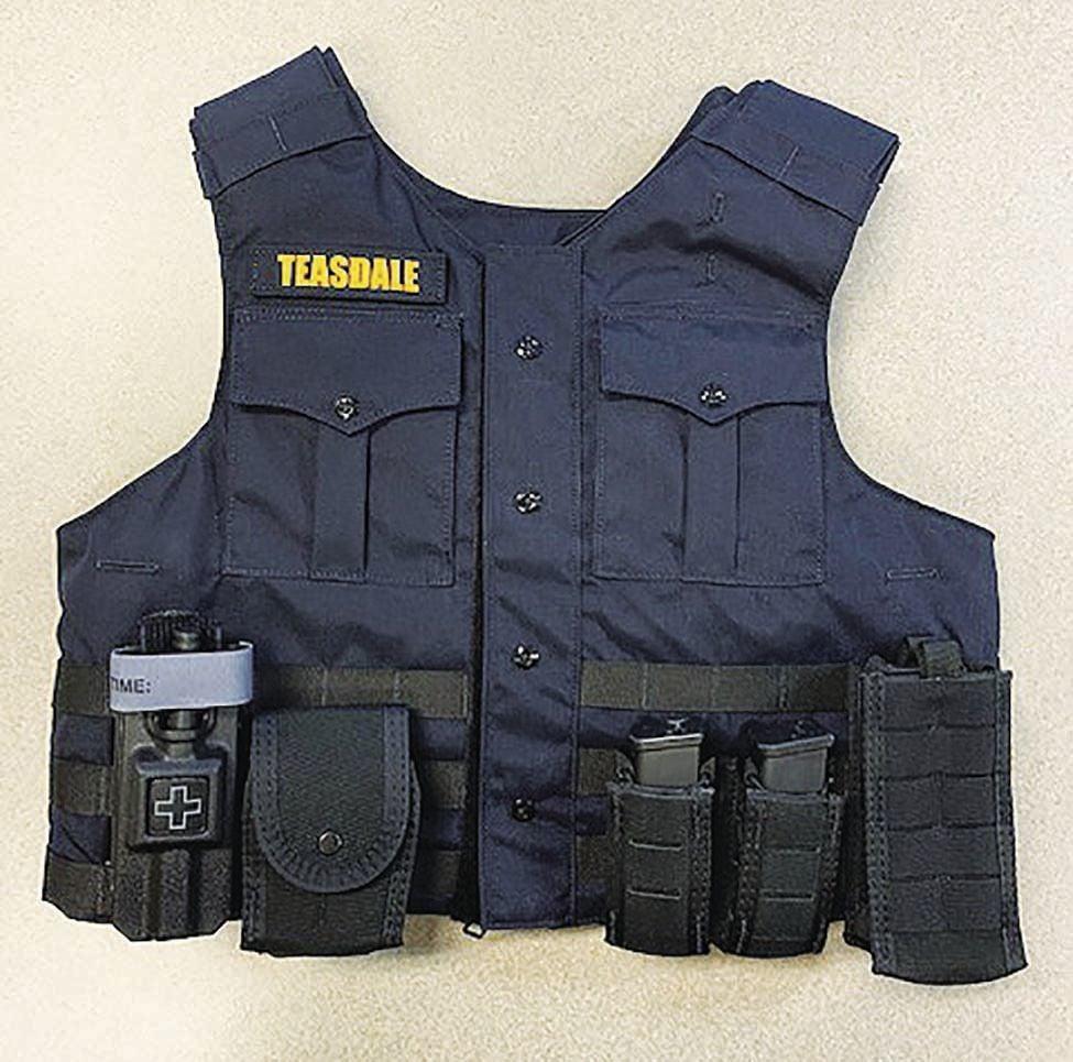 Teasdale vest (2019)
