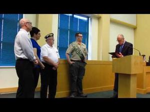 Sun Prairie City Council -- Eagle Scout Proclamation -- 6-6-2017