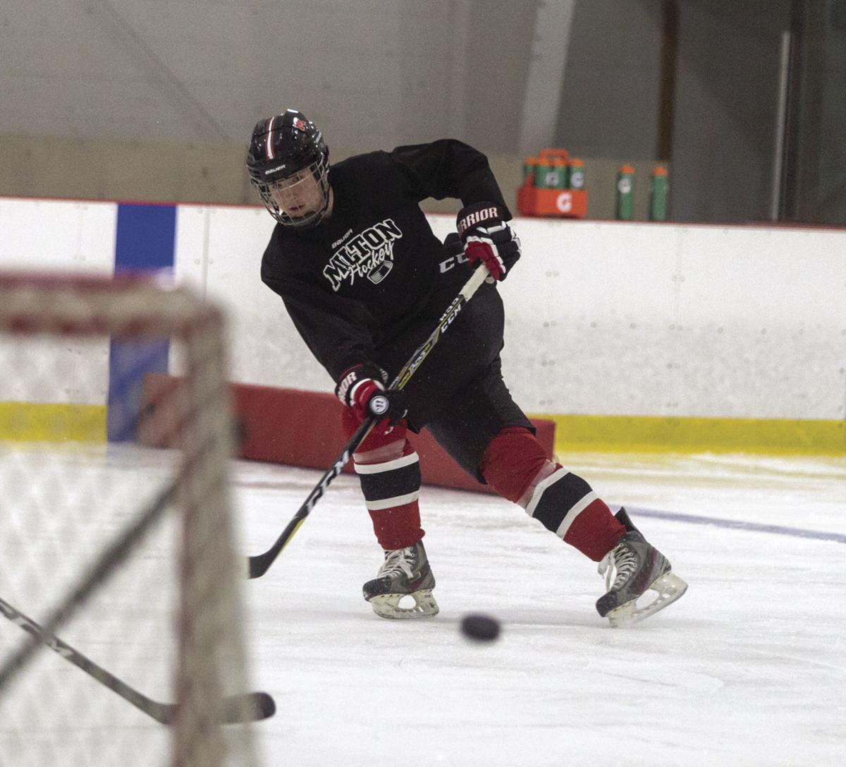 Zartman to lead Red Hawk hockey