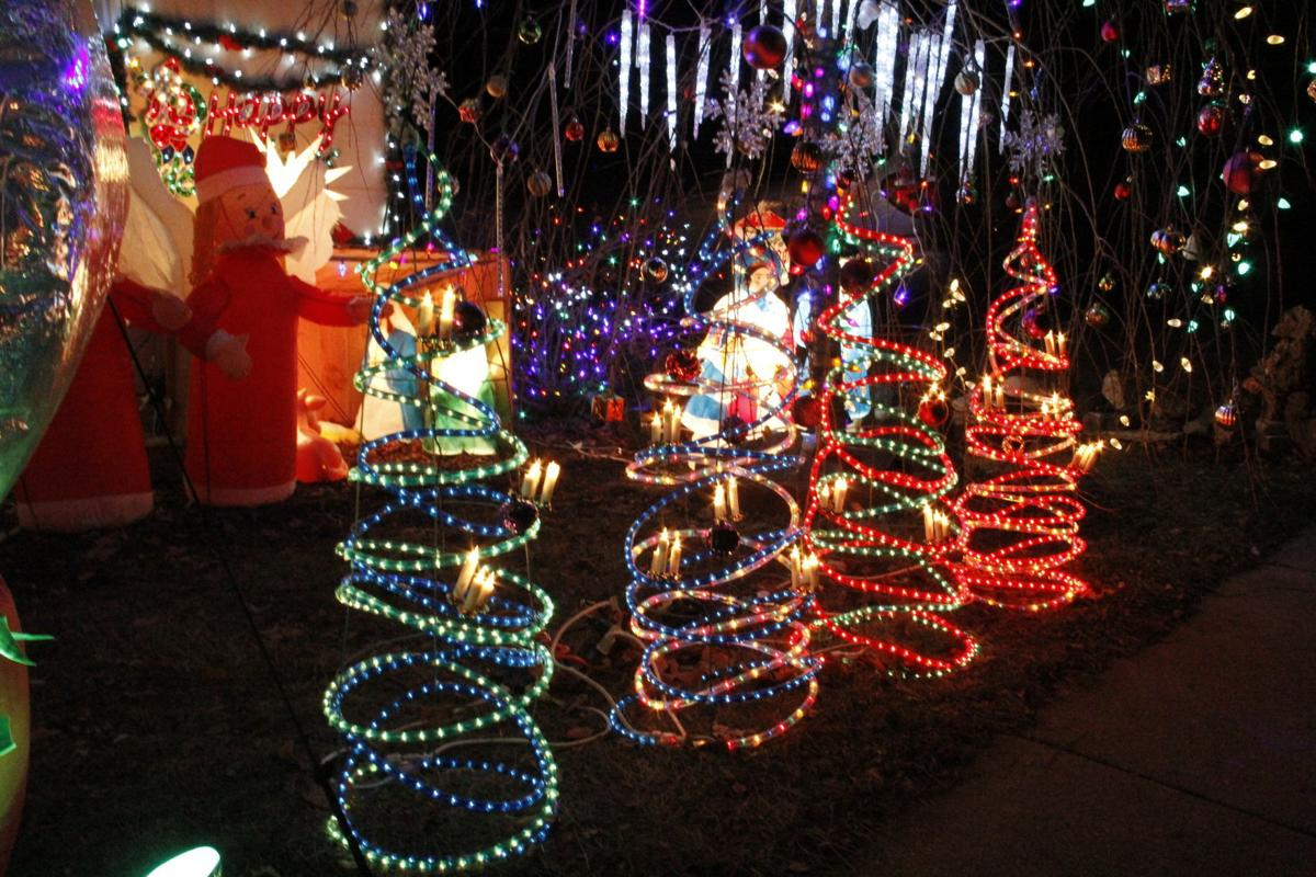 Holiday display lights up Deerfield Main Street