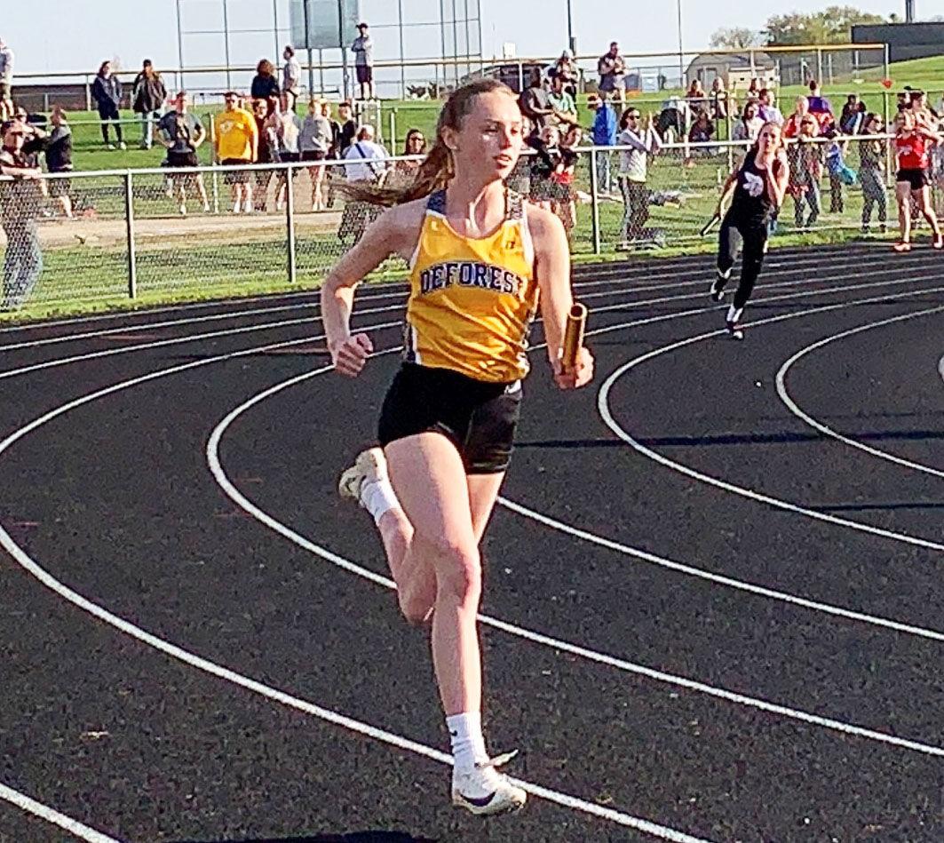 Senior track season