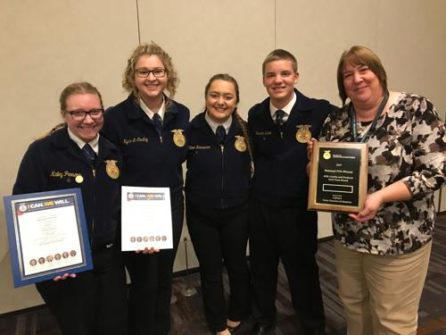 Milton FFA places 9th at nationals