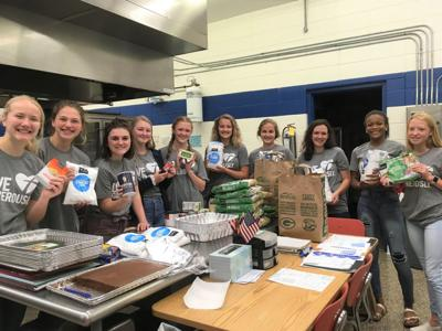 Teens for Christ service project