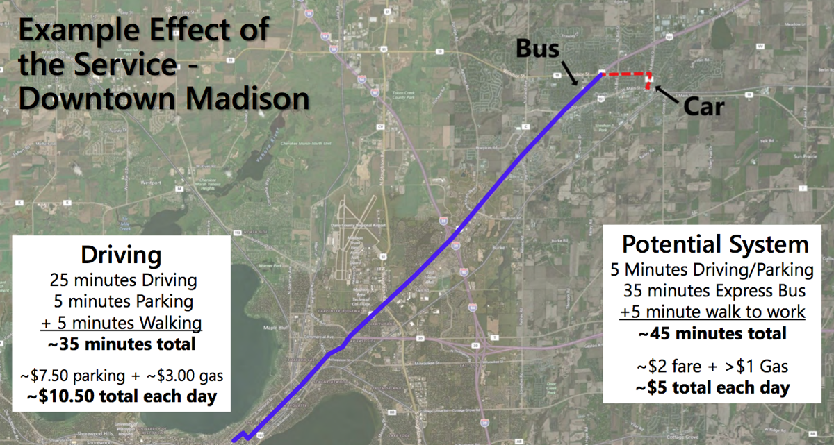 Madison Metro Map.Survey Gauges Interest In Madison Metro Commuter Route To Sun