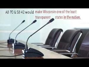 Keep Transparency Alive in Wisconsin