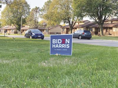Local outbreak of stolen yard signs as election day inches closer