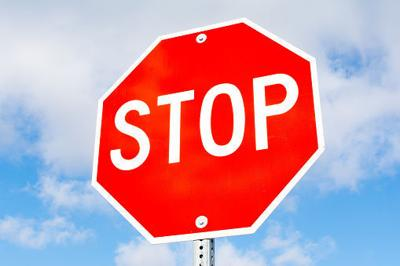 Four-way stop goes up at  N. Bird Street and Egre Road