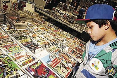 Kid reading comics (2019)