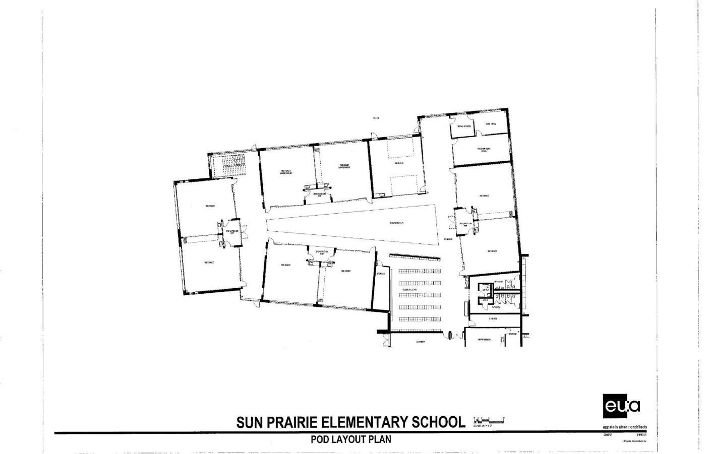 Preliminary Learning Pod Layout Plan 2 6 17 Pdf School Hngnews Com