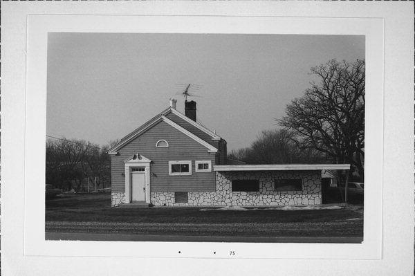 Rock River School in 1975