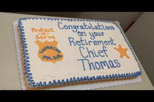 Waterloo Police Chief Timothy Thomas retirement