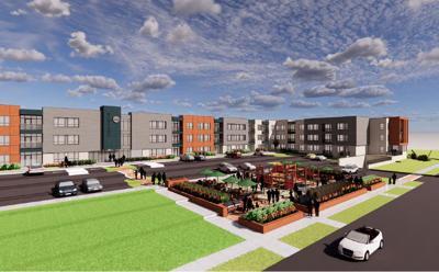 Glen Grove Apartments Rendering