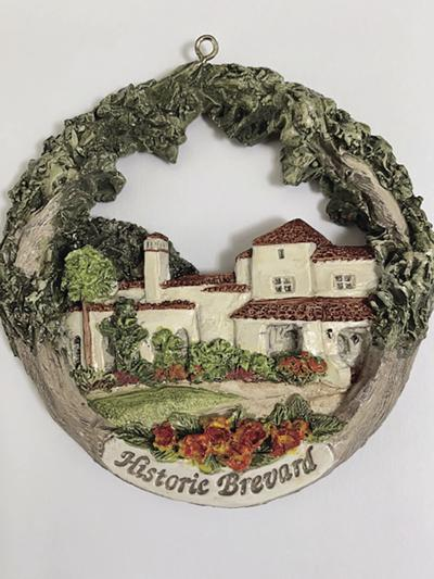 2019 Historic Brevard Ornament