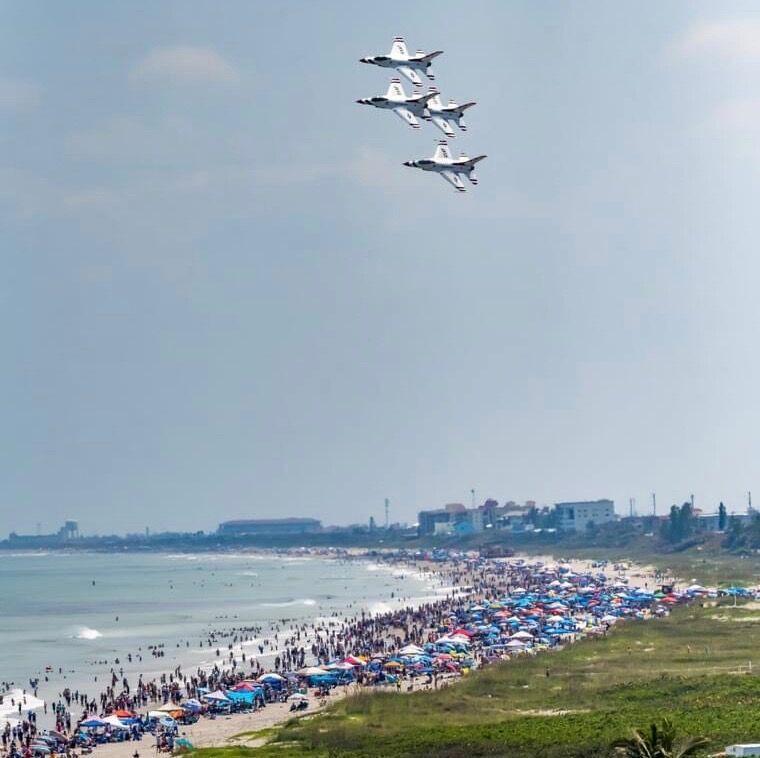 Cocoa Beach Air Show 2021