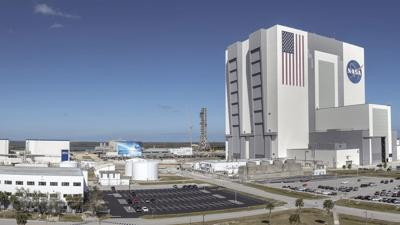 Panoramic Photo of LC 39 Area at KSC
