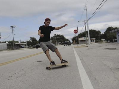 1379f7710173 Coastal Flow Board Company. Skateboard maker Collin Waffird has turned ...