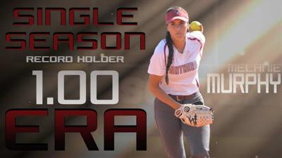 Local product snaps 13 year record held by former pitching standout Amber West