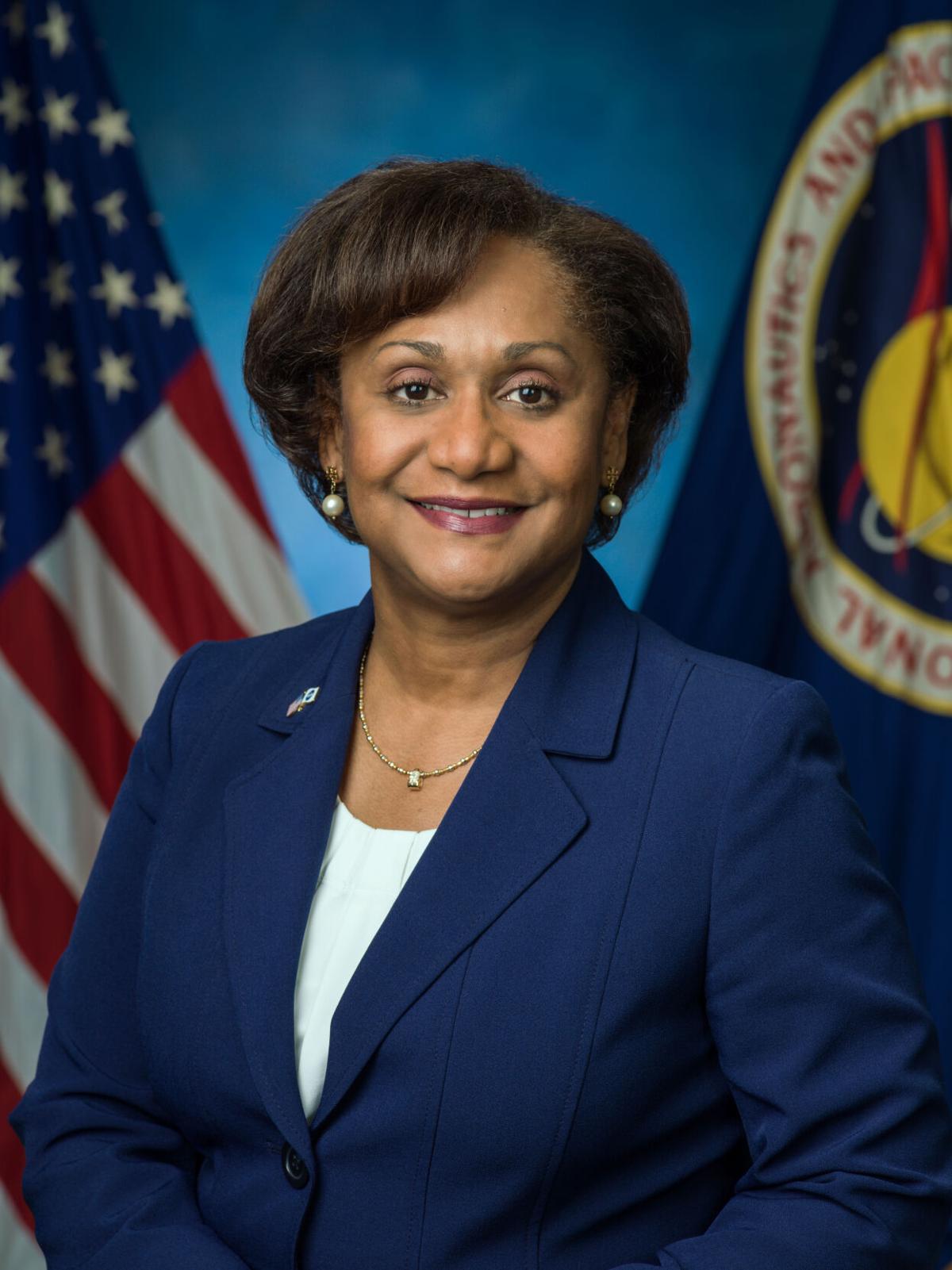 Vanessa Wyche, director of the NASA's Johnson Space Center in Houston