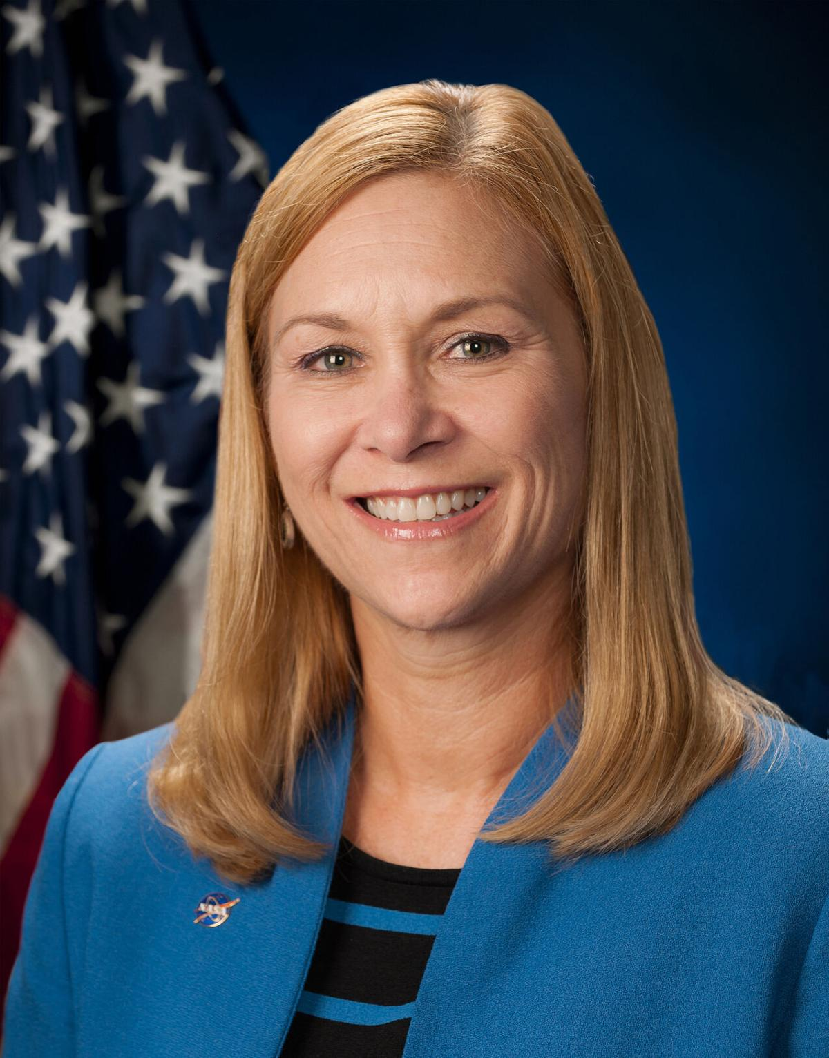 Janet Petro, director of NASA's Kennedy Space Center in Florida
