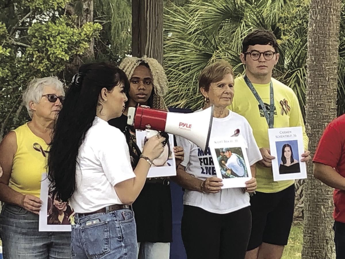 Parkland shooting memorial draws awareness to gun violence