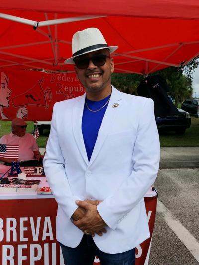 Palm Bay Mayor Rob Medina at the city's June 26 2021 Caribbean Fest