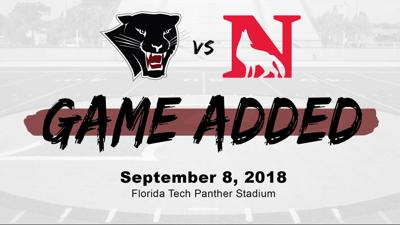 Game set for Sept. 8 and will be Florida Tech's home opener
