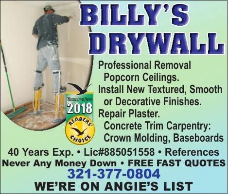 Billys Drywall