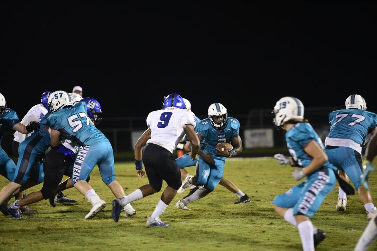Falcons versus Blue Streaks
