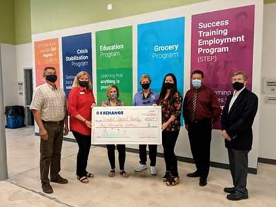 Exchange Club of Indian River donation to United Against Poverty