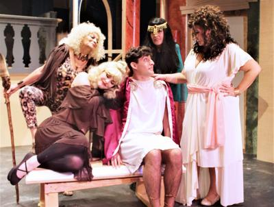 """Vero Beach Theatre Guild presents """"A Funny Thing Happened on the Way to the Forum"""""""
