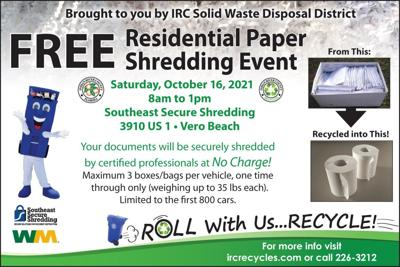 Indian River County paper shredding event
