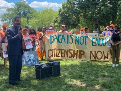 Interfaith Immigration Coalition rally for path to citizenship