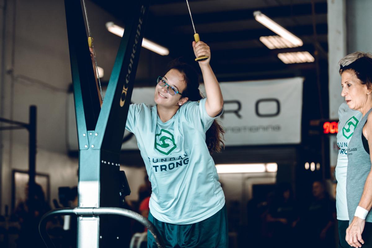 Sunday Strong athlete Julia Oslund